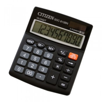 Калькулятор CITIZEN-SDS-810BN / р.10